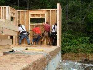 contractors build opal home