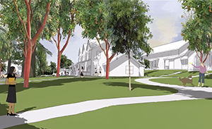 april's grove townhouse rendering