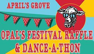 Orcas festival raffle and dance-a-thon