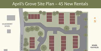 April's Grove Site Plan