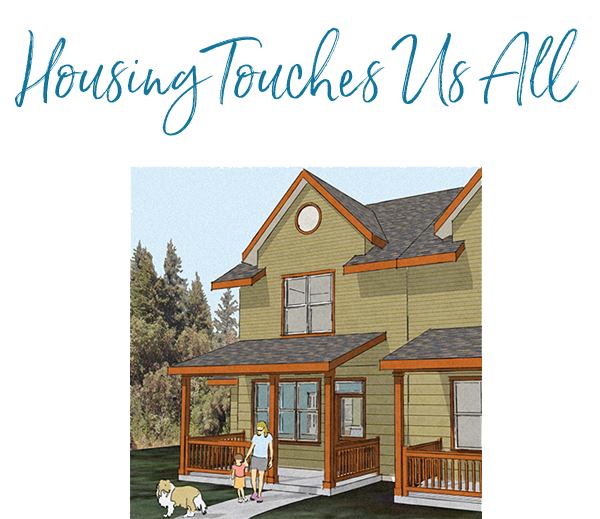 housing touches us all - april's grove